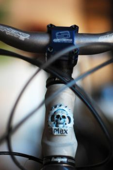 SKull Bike Badge by max1mu5
