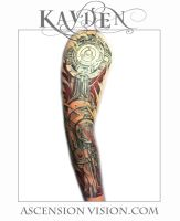 Biomechanical sleeve by kayden7