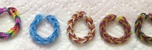 RainbowLoom Band (Colors) Pt.2 by Elemental-Fang