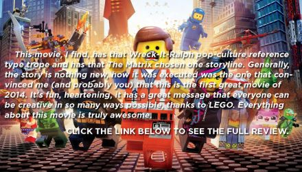 The LEGO Movie - MOVIE REVIEW by huatist