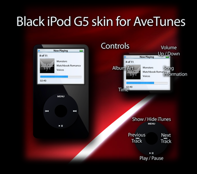 Black iPod G5 by Sleepless-Dreams