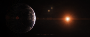 Gliese 667 Cc by Alpha-Element