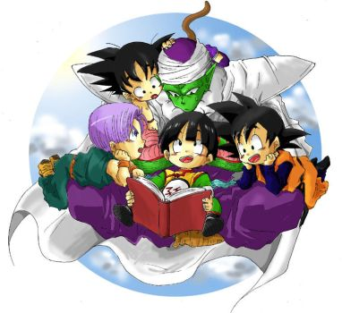 Uncle Piccolo . by DBpictures