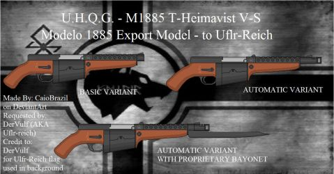 Modelo 1885 export model - to Ulfr-Reich by caiobrazil