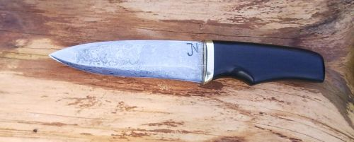 Knife with ebony handle by Silver11k