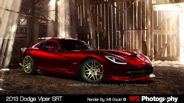 2013 Viper SRT by Zer0Gfx
