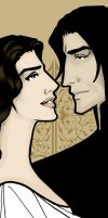 Severus and Evelyn by JosieCarioca