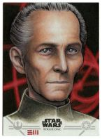 Grand Moff Tarkin Artist Proof by Erik-Maell