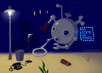 20000 Leagues Under The Sea by whiteboarders
