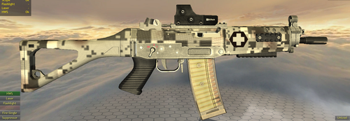 Cascadia Rifle Concept by WanderingGoose
