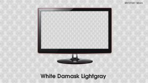 White Damask Lightgray by DeviantMM