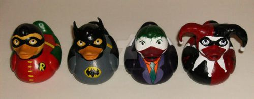 The Gotham Ducks by BlueSaltwaterTaffy
