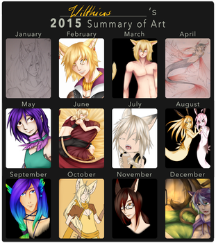 2015 Summary of Art by Wilthius