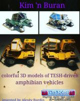 TESH-driven amphibians by Dlordtesh
