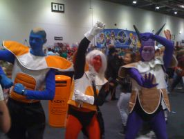 The Ginyu Force Cosplayers by Collioni69