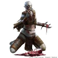 Paizo Pathfinder: Hungry Undead by LindseyWArt
