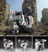 Audumbla - Furture Bipedal Mech by izzolegostyle