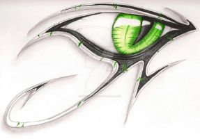Eye of Ra / Re Drawing (edited FIN) by SusuSketches