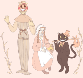 the most autumn thing i've ever drawn by VintageCandyShop