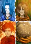 The 4 Legends (Completed) by ILOVEJIMHAWKINS