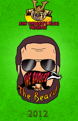 The Badger and The Beard Poster by fatsfazoul