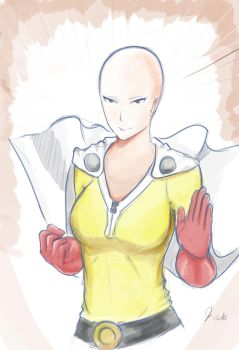 One Punch Woman [genderbend] by yagitka