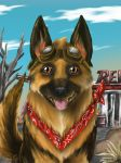Dogmeat-Fallout 4 by xenomorphfury161