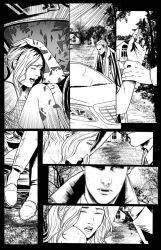 sample comic page by denzelberg