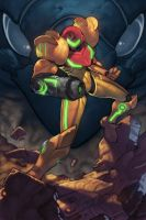 METROID by DOOMNIPPLE