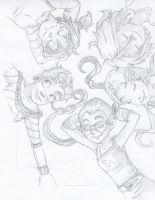 W.I.T.C.H. Pencil drawing by PokeponyAquaBubbles
