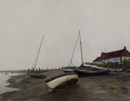 Low Tide, Burnham Overy Staithe by marcdalessio