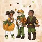 Pumpkin Spice Beings by ErinPtah