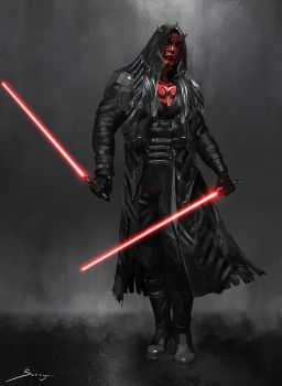 Darth Sith Male - Concept Design by Ron-faure