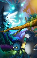 Ori and the Blind Forest by MarachiStudios
