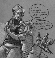 John and Agni- That Alcohol Tolerance by Akai-Kiki
