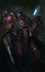 Ivan Malphas Chapter master of exsanguinators by warhammer40kcampaign