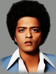 Bruno Mars by brentonmb