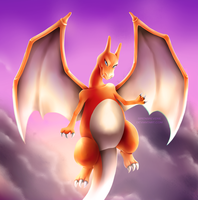 [GIFT] Charizard by SirensReverie
