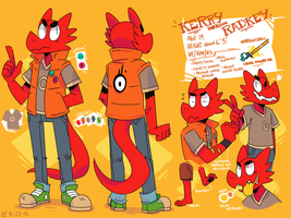 Kerry Harrison Radkey - Ref Sheet - Late 2015 by Ionic-Isaac