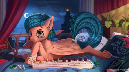 Do you know how to play senet? by DiscordTheGE