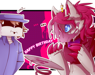 Happy Birthday Magdyy!! by Ana-Vanexitax