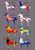 [Equine designs|3/8 OPEN!] State flags.01 by Ciy-chan