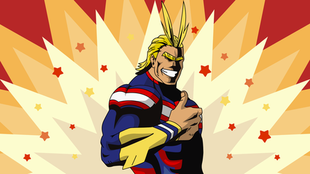 All Might from Boku no Hero Academia by WalidSodki