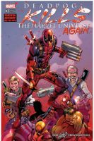 DEADPOOL KILLS MARVEL UNIVERSE #1 (Again) by le0arts