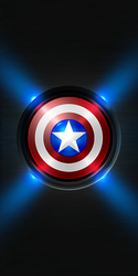 Captain America Android Wallpaper by NikitaMonday