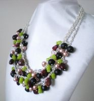 Spring Bling Necklace by RetroRevivalBoutique