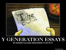 Y Generation Essays by FireNationPhoenix