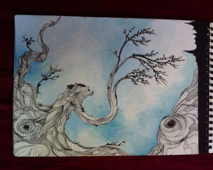Twisted tree by synescape