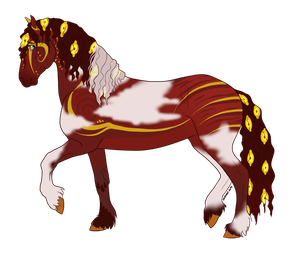 Ruby - SOLD by SagaWolf-Stables