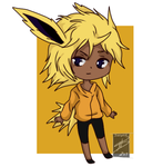 **Lowered Price**Jolteon Gijinka Adopt by shaygoyle